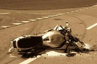 Accidente moto